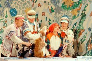 Новогодние елки для самых юных зрителей в Московском детском театре марионеток