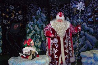 Новогодняя программа в Московском детском театре марионеток