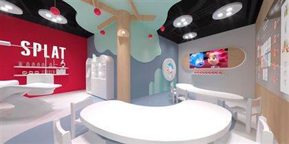 Новая игровая стоматология SPLAT в детском городе профессий «КИДБУРГ»
