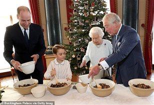 Королева Елизавета принц Чарльз Уильям Джордж