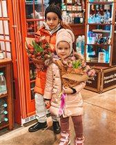 Ксения Бородина дочери Маруся Тея