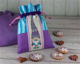 Мешочек с печеньем