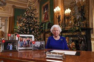 Королева Елизвета 2 рождество 2019