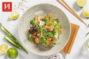 Доставка еды 'Империя': новогоднее меню и меню для веганов