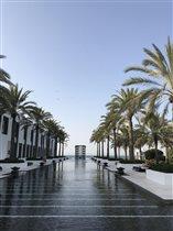 Бассейн отеля Chedi Muscat