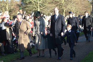 Принц Чарльз принц Уильям Кейт дети