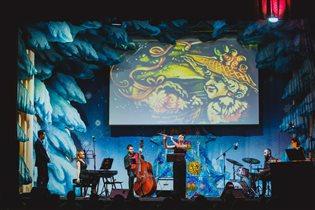 Новогодние концерты с песочной анимацией
