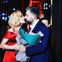 Полина Гагарина с мужем: торт в лицо имениннику
