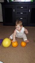 Учим размеры предметов,играя)))