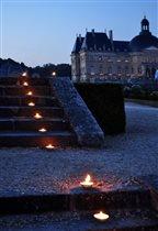 Вечер при свечах в замке Vaux Le Vicomte