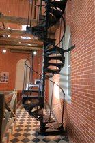 Лестница водонаборной башни