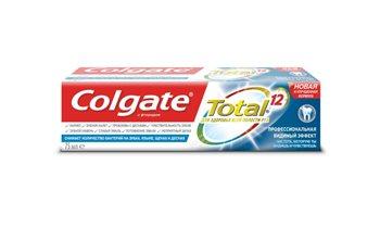 Новая зубная паста Colgate Total