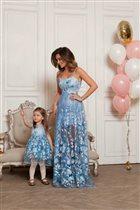 Мама-дочка: парные образы от Malina Fashion Family