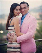 Алсу с мужем - кружевная свадьба и 3 детей