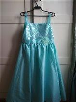 Платье нарядное на 140-150