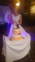 Свадебный торт руками мамы