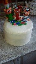 торт 'Виктория' для дочки Виктории своими руками