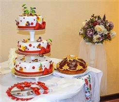 Наш свадебный торт