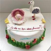 Первый тортик