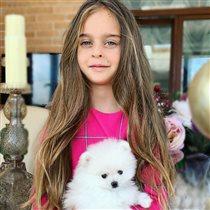 Александр Ревва празднует 6 лет младшей дочери