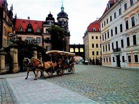 По улицам Дрездена с ветеркоммм!