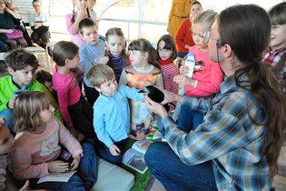 Новый цикл лекций для детей «Чудесная планета: биография Земли» в Московском зоопарке