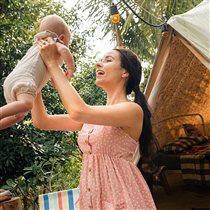 Ирена Понарошку - 5 месяцев сыну: 'Сделано с любовью!'