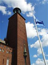 Башня ратуши, где вручают Нобелевскую премию.