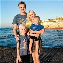 Певица Натали с сыновьями: 'О боже, какие мужчины!'