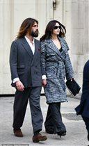 Моника Беллуччи с молодым любовником: 'У кого из них волосы длиннее?'