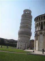 Вот она ...Пизанская башня...