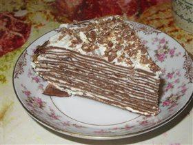 Блинный торт к 8 марта