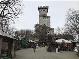 Смотровая Башня на горе АХУН