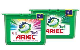 Капсулы для стирки Ariel PODS 3 в 1: PODходят всем!