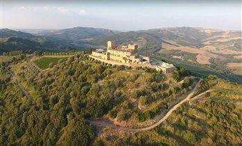 Отель-замок в Тоскане Castello Di Velona - незабываемые виды