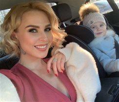 Пелагея: первое официальное селфи с дочерью после утечки фото