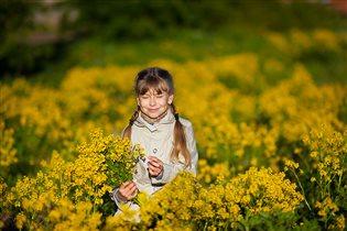 Весна в золотом цвете