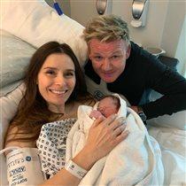 Гордон Рамзи стал отцом в пятый раз - после трагедии с предыдущей беременностью жены