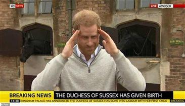 Меган Маркл наконец родила первенца. Принц Гарри пообещал показать сына через 2 дня
