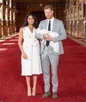 Принц Гарри и Меган Маркл: первое фото с сыном - его назвали Арчи
