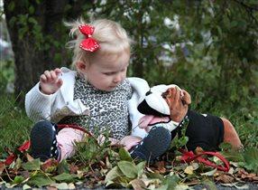 Моя любимая игрушка собака!
