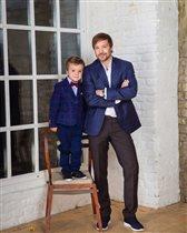 Алексей Чадов: фото с сыном в честь 5-летия - 'Похож на сына Лазарева!'