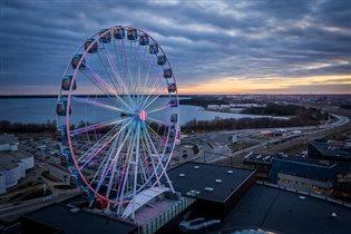 Новое колесо обозрения в Таллине: вид сверху лучше