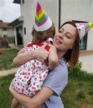 Юлия Савичева показала дочь в честь 2-летия