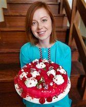 Рецепт летнего торта для дочки от Юлии Савичевой