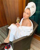 Кристина Асмус: фото после бани