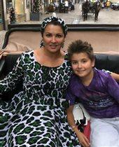 Анна Нетребко с сыном Тьяго: 'Какой замечательный Ежик!'