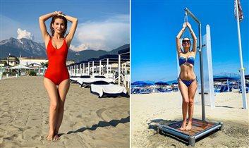 Ольга Орлова в купальнике: не хватает ног?
