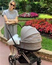 Ирина Медведева: первый выход после родов