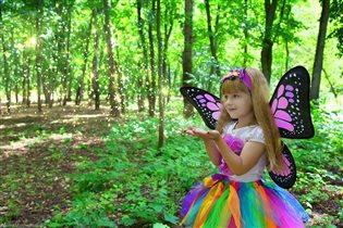 Фея леса и цветов